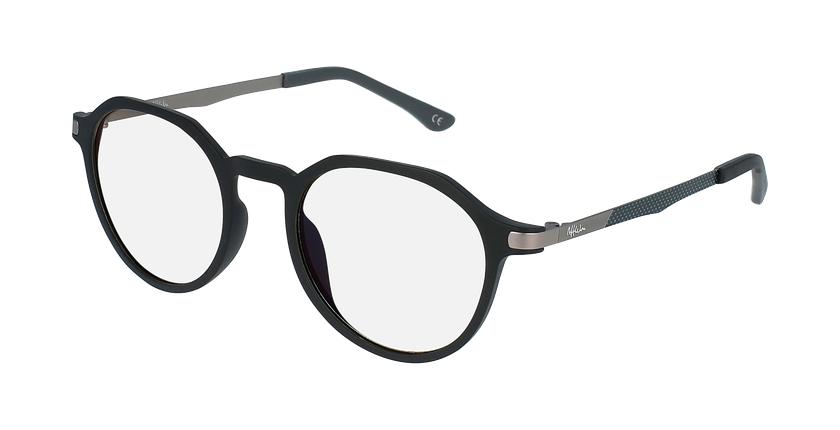 Gafas graduadas MAGIC 39 BLUEBLOCK negro - vue de 3/4