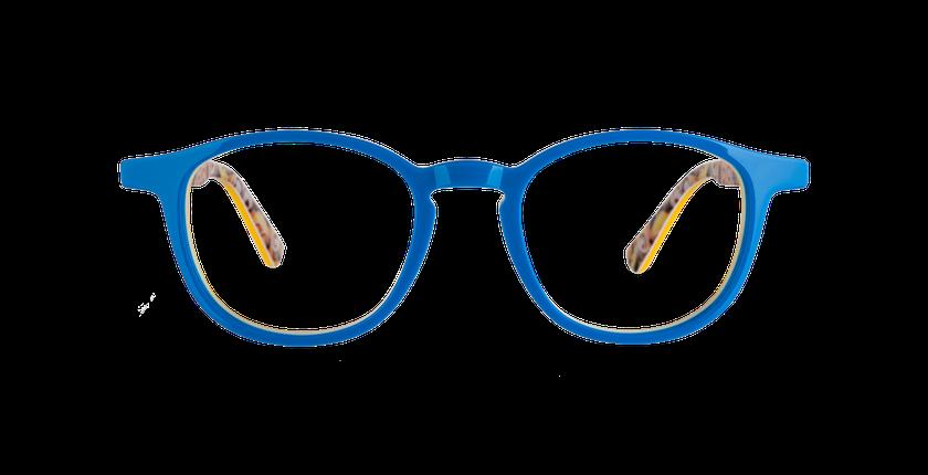 Gafas graduadas niños BOB azul/amarillo - vista de frente