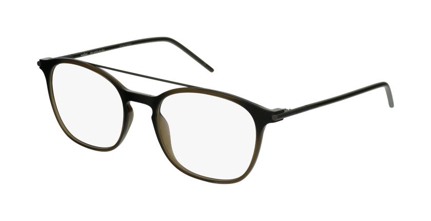 Gafas graduadas hombre MAGIC 71 gris/verde - vue de 3/4