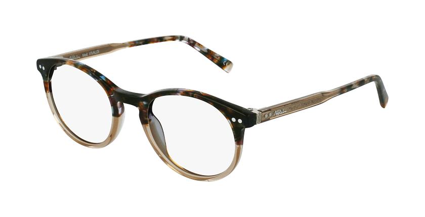 Gafas graduadas VIVALDI marrón - vue de 3/4