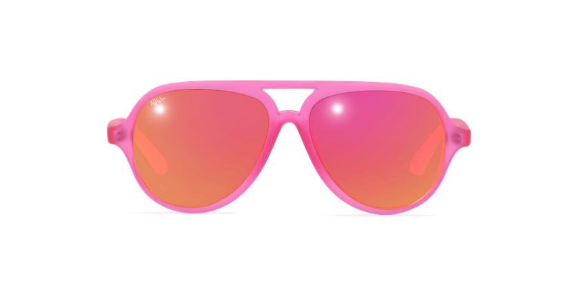Gafas de sol niños RONDA - NIÑOS rosa - vista de frente