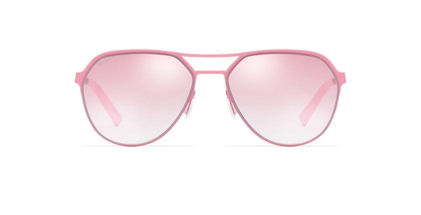 Gafas de sol hombre DAYTONA rosa - vista de frente