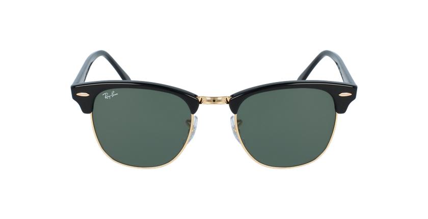 Gafas de sol CLUBMASTER negro/dorado - vista de frente