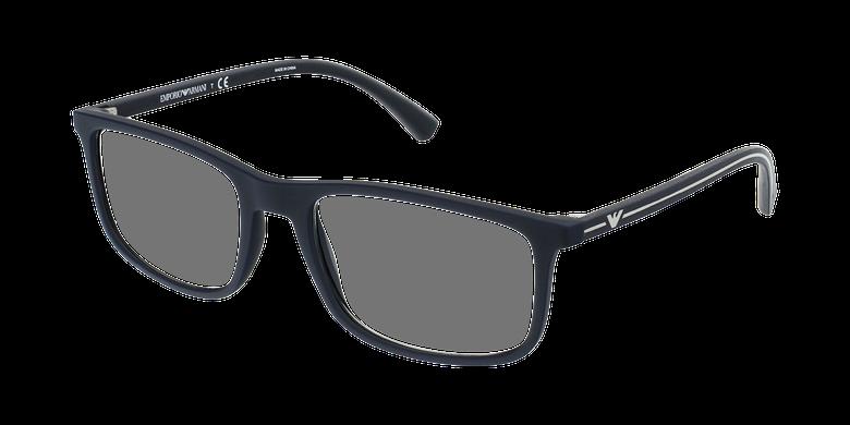 Gafas graduadas hombre EA 3135 negro/negro