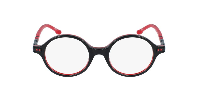 Gafas graduadas niños BELLO1 negro/rojo - vista de frente