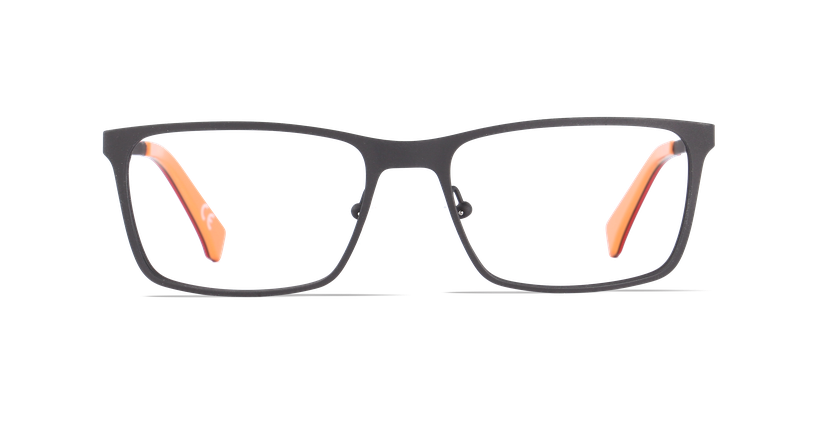 Gafas graduadas hombre CALVIN KLEIN JEANS negro - vista de frente