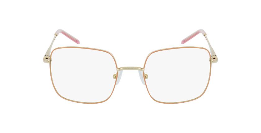 Gafas graduadas niños STELLA rosa/dorado - vista de frente