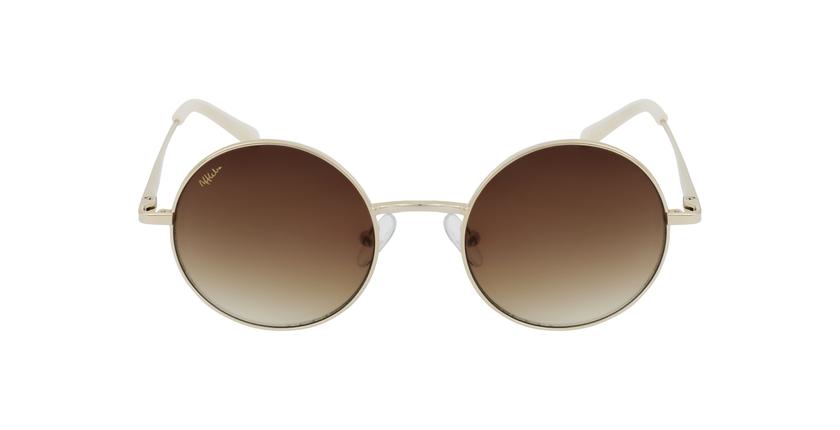 Gafas de sol mujer BETSY dorado - vista de frente