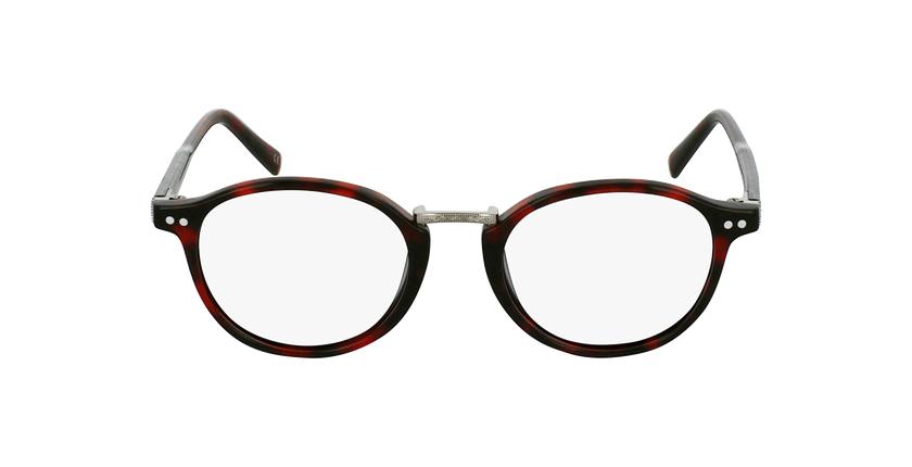 Gafas graduadas BRAHMS rojo - vista de frente