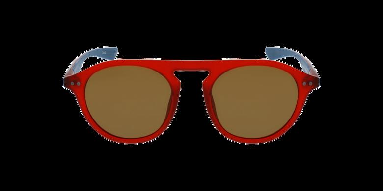 Gafas de sol BORNEO rojo/azulvista de frente