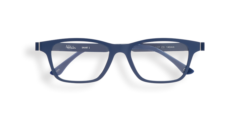 Gafas graduadas hombre MAGIC 02 azul - vista de frente