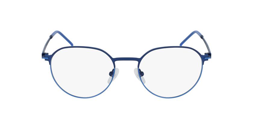 Gafas graduadas hombre JUPITER azul - vista de frente