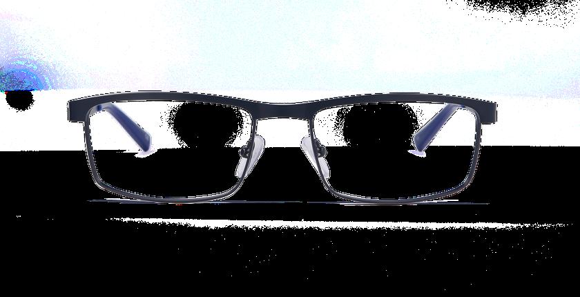 5713b934fb ... Gafas graduadas hombre WILLIAM azul - vista de frente ...