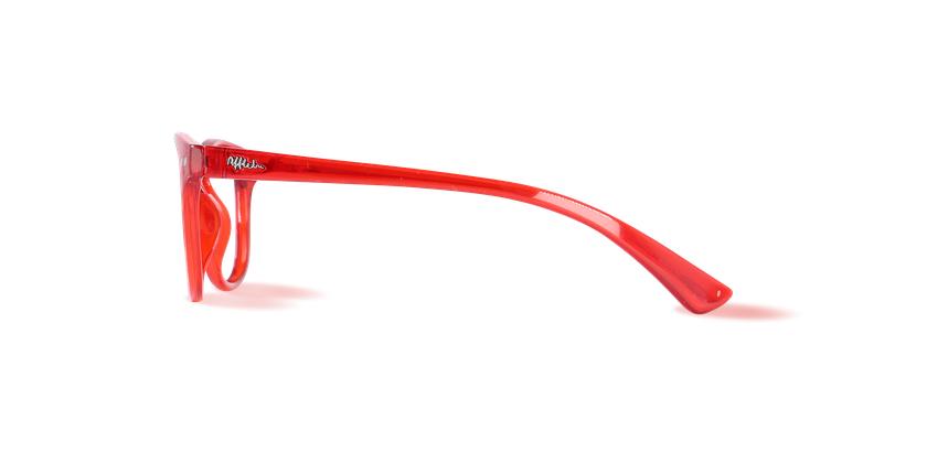 Gafas graduadas niños BLUE BLOCK NIÑOS rojo - vista de lado