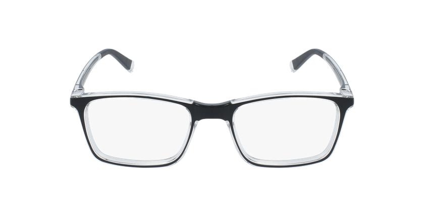 Gafas graduadas niños RFOC1 negro - vista de frente