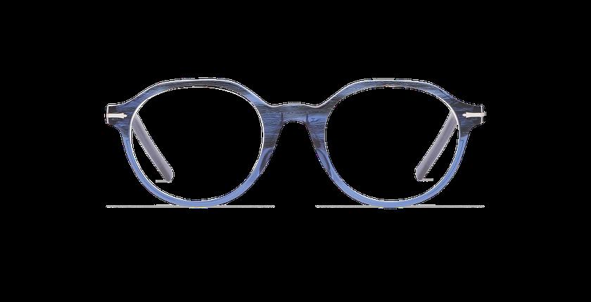Gafas graduadas hombre MOREZ azul - vista de frente