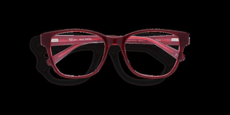 Gafas graduadas mujer KIERA rojo