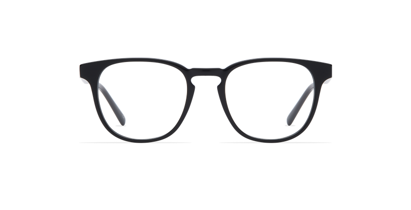 Gafas graduadas hombre BLAISE negro - vista de frente