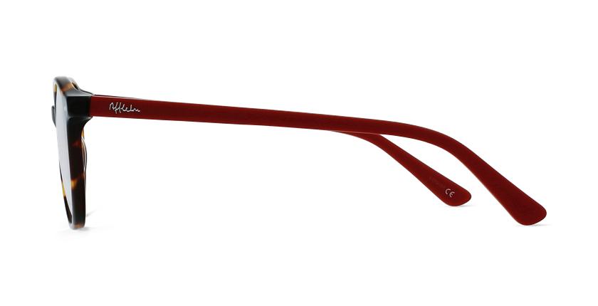 Gafas graduadas niños JUDE carey/rojo - vista de lado