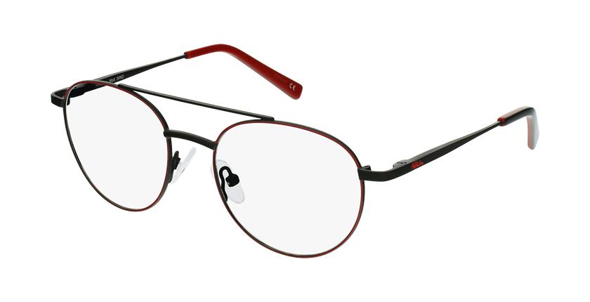 Gafas graduadas niños NINO rojo/negro - vue de 3/4
