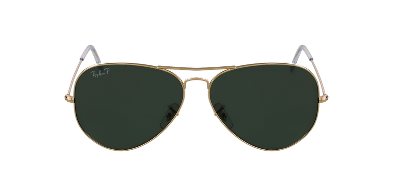 Gafas de sol AVIATOR LARGE METAL dorado/negro