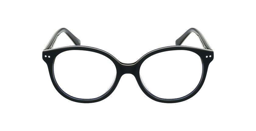 Gafas graduadas niños SAMANTHA verde/negro - vista de frente