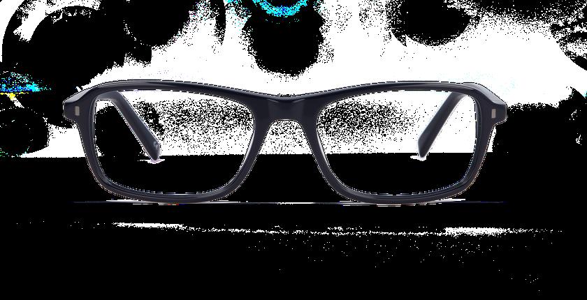 Gafas graduadas hombre BRICKLANE azul - vista de frente