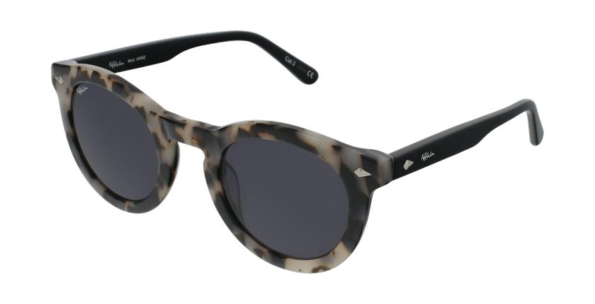 Gafas de sol mujer ANNE carey/negro - vue de 3/4
