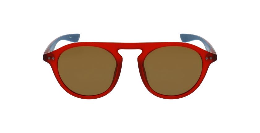 Gafas de sol BORNEO rojo/azul - vista de frente