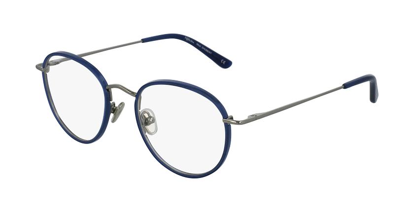 Gafas graduadas SHUBERT azul/plateado - vue de 3/4