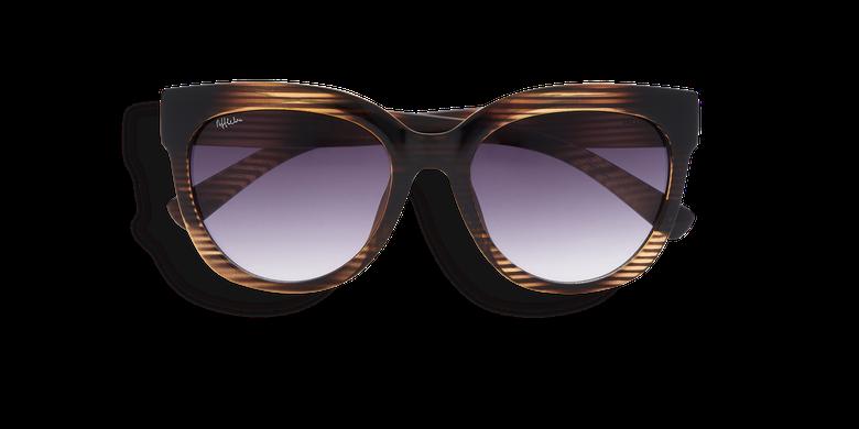 Gafas de sol mujer TARIFA marrón/verde