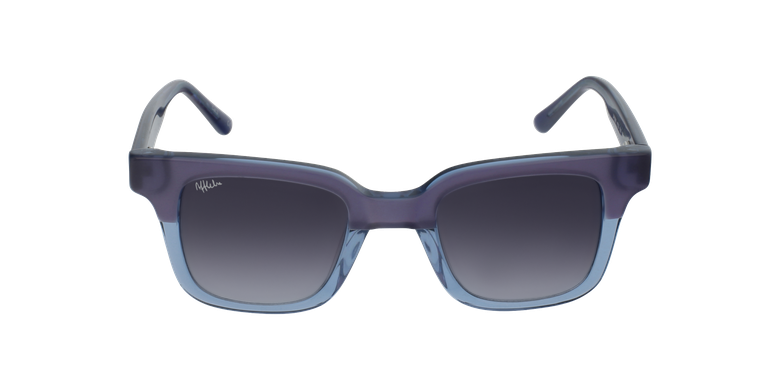 Gafas de sol mujer KAREN morado/azulvista de frente