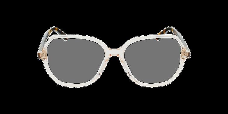 Gafas graduadas mujer CONSTANCE marrónvista de frente