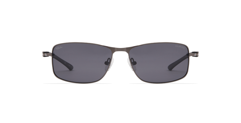 Gafas de sol hombre ONATI POLARIZED gris/negro - vista de frente