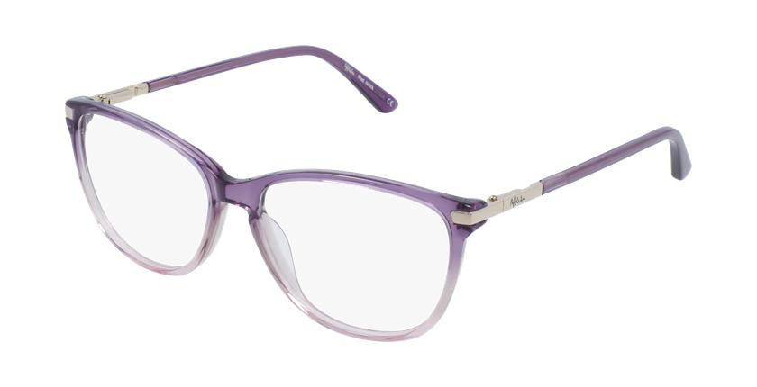 Gafas graduadas mujer OAF20520 morado - vue de 3/4
