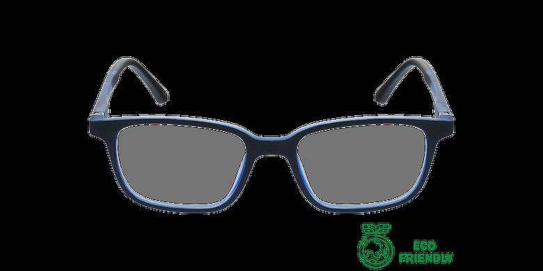 Gafas graduadas niños MAGIC 76 ECO-RESPONSABLE negro/rojovista de frente