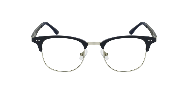 Gafas graduadas TMG92 azul/plateadovista de frente