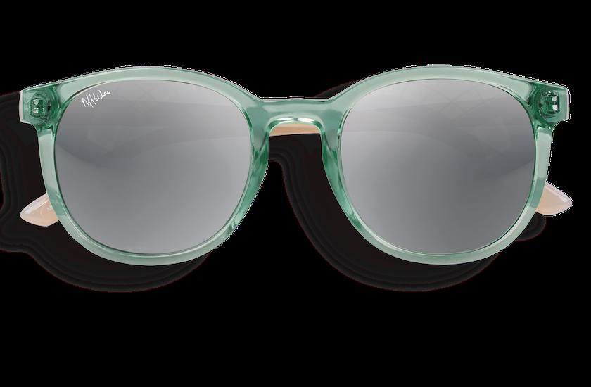 Gafas de sol mujer ARUBA verde/rosa - danio.store.product.image_view_face