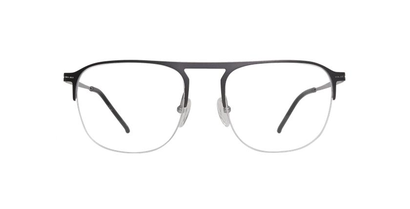 Gafas graduadas hombre NEON gris/plateado - vista de frente