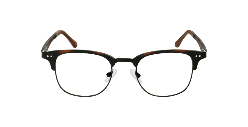 Gafas graduadas TMG92 carey/negro - vista de frente