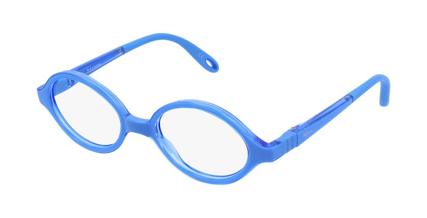 Gafas graduadas niños RFOB1 azul - vue de 3/4