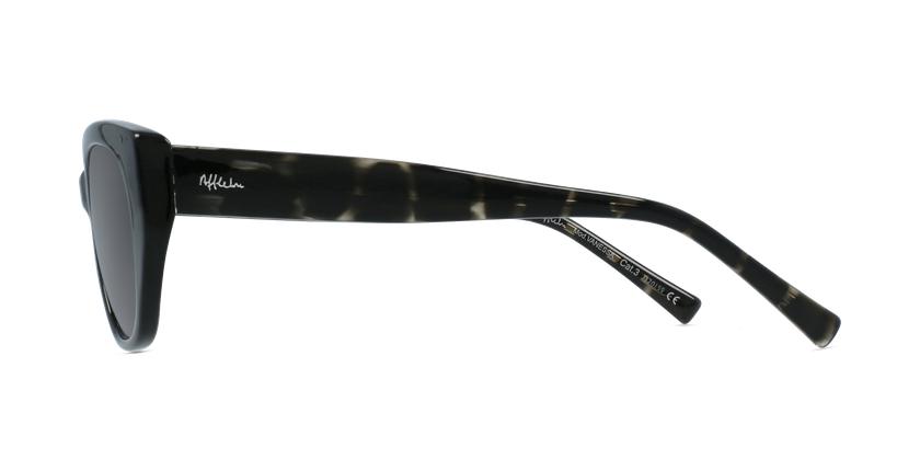 Gafas de sol mujer VANESSA negro - vista de lado