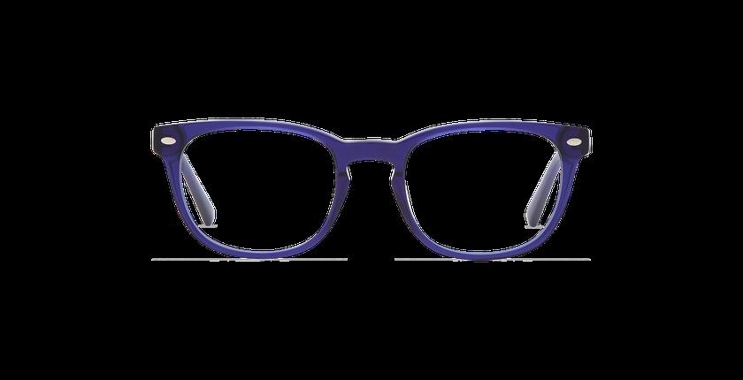 Gafas graduadas hombre LUCAS azul - vista de frente
