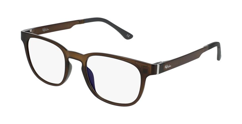Gafas graduadas hombre MAGIC 33 BLUE BLOCK gris - vue de 3/4