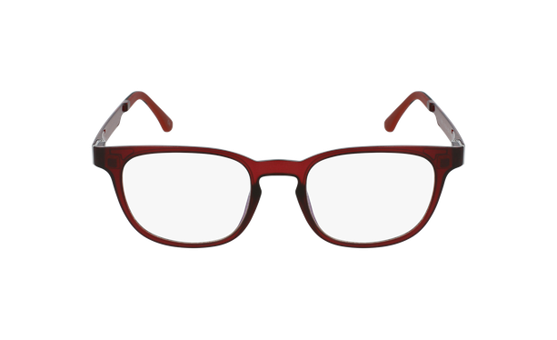 Gafas graduadas hombre MAGIC 33 BLUE BLOCK rojo - vista de frente
