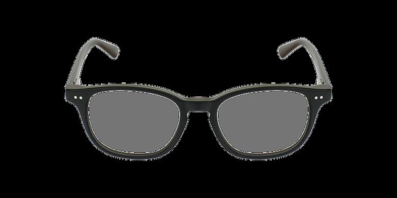 Gafas graduadas niños SANDRO negro/verdevista de frente