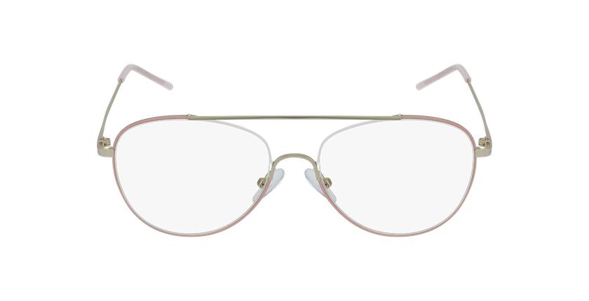 Gafas graduadas mujer DIANA rosa - vista de frente