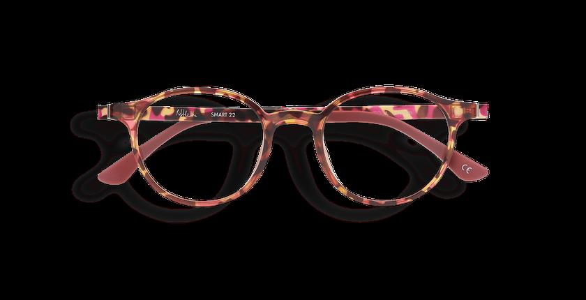 Gafas graduadas mujer MAGIC 22 rosa/carey - vista de frente