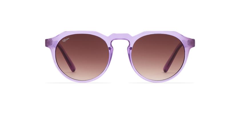 Gafas de sol VAMOS morado - vista de frente