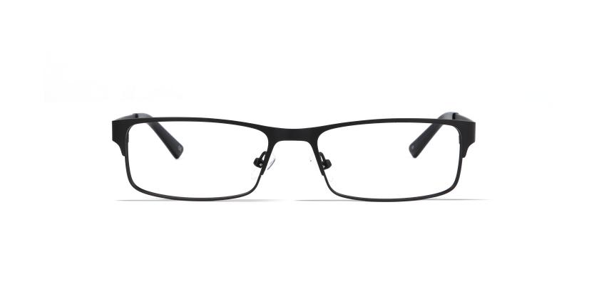Gafas graduadas hombre HUGO negro - vista de frente